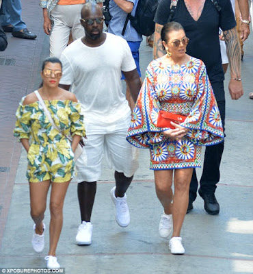 Photos: Kris Jenner vacations with Kourtney K & Corey Gamble in Italy