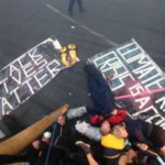 Black Lives Matter protesters close London City Airport runway