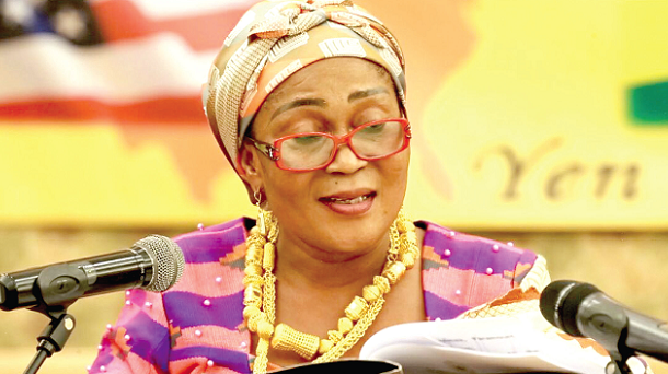 Lordina lauds Ghanaians for partnering govt for national dev.