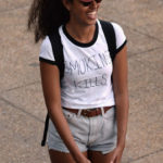 Malia Obama wears 'Smoking kills' tee-shirt at Made In America festival