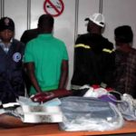 Photo: Nigerian man arrested at Mohammed V International Airport, Morocco for drug trafficking