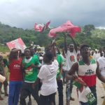 NDC Campaigns At GES Programme