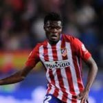 Thomas Partey heavily praised by Atletico Madrid coach Diego Simeone