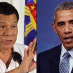 Philipines President, Rodrigo Duterte Regrets Using Cuss Words on President Obama