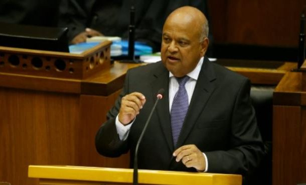 S.Africa finance minister decries 'scurrilous' police