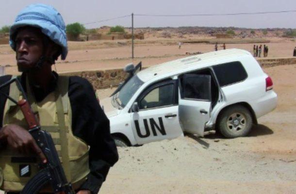 UN Mali mission uncovers arms cache near restive city