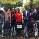 The Rotary Club Of Accra-Labone donates to Korlebu, Society of the Disabled