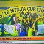Bechem United beat Okwahu United to win 2016 MTN FA Cup