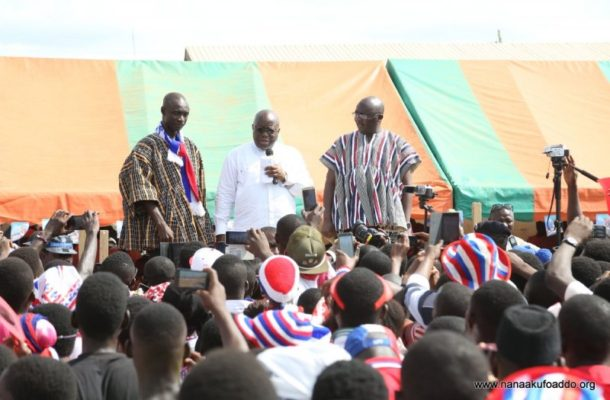 "Kick out ""disastrous"" Mahama – Akufo-Addo"