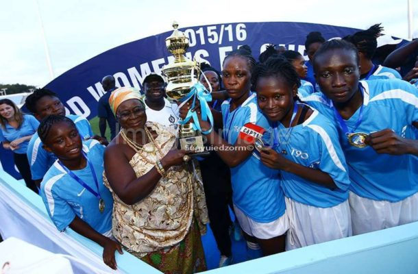 Police Ladies edge Fabulous Ladies to emerge champions