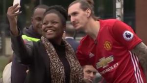 Video: 'fake' Zlatan Ibrahimovic that got Man U fans all fooled