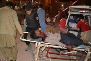 Over 60 Police cadets killed, after Islamic Militants stormed Pakistani Police College (Photos)