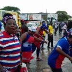 Party supporters defy heavy rains to attend NPP manifesto launch