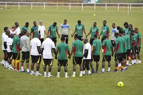Black Stars begin training ahead of Uganda qualifier