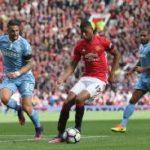 Late Allen strike denies Man Utd
