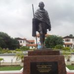 Gandhi statue on UG campus to be relocated - Government