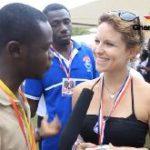 American lady campaigns for Nana Akufo-Addo