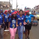 Suhum NPP Loyal Ladies roughed up by 'NDC youths'