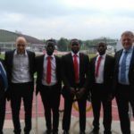Three Ghanaian referees at UEFA Excellence course