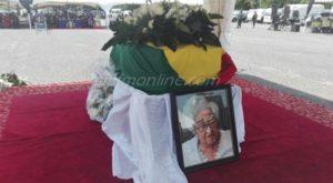 Rawlings, Kufuor, Mahama, pay last respects to Mary Grant [Photos]