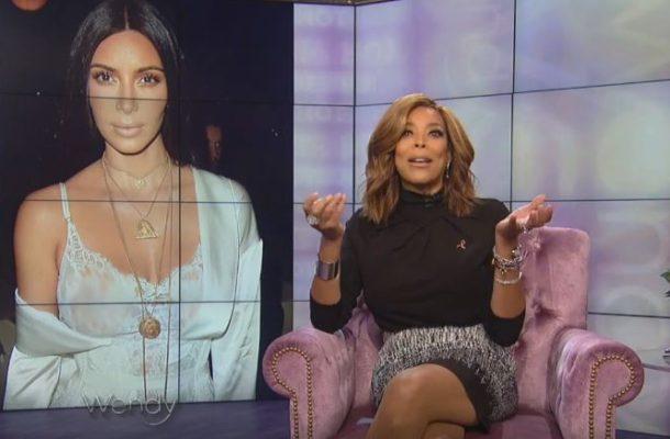 VIDEO: Wendy Williams Thinks Kim Kardashian Robbery was an Inside Job?