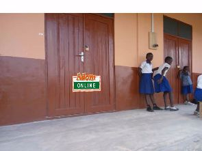 Angry contractor locks up new classroom block