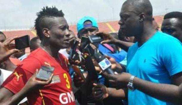 Black Stars: Asmoah Gyan shrugs off captaincy tension with Ayew