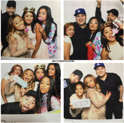 Video and Photos from Blac Chyna's baby shower