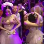 Newlywed allows guests to molest her in order to raise money for honeymoon (photos)