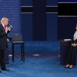 Trump praises Hillary: 'She doesn't give up, she fights hard' while Clinton says: I respect his children
