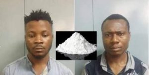 Photos: Two Nigerians arrested for drug trafficking in India, 50g of cocaine seized