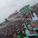 Ashaiman: Thousands attend NDC's Ernest Norgbey's campaign launch