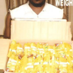 Photos: Drug trafficker tricks innocent passenger into carrying box of Indomie noodles with drugs at Enugu Airport