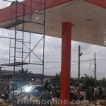Disaster committee stops construction of fuel station