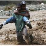 Struggle to reach Haitian storm zone