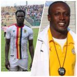 Hearts interim coach Yaw Preko congratulates Inusah on debut Black Stars call-up