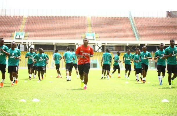 2018 World Cup Qualifier: No Cause For Alarm Says Ghana Team Official As Three Players Fail To Train Ahead Uganda tie