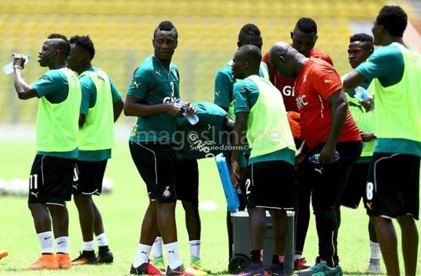 2018 World Cup: Black Stars train in Tamale Ahead of Uganda tie
