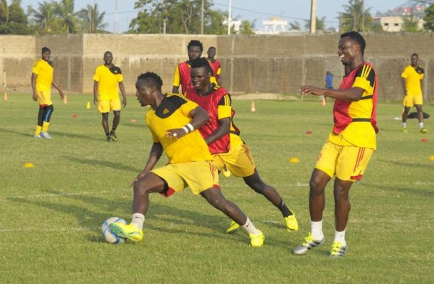 2018 World cup qualifier: Uganda Hold Last Training In Lome Before Travelling To Tamale