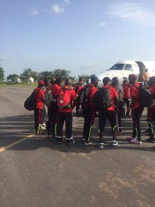 PHOTOS: Cranes of Uganda land in Tamale for Ghana World Cup qualifier
