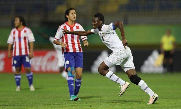 Jordan 2016: Black Maidens skipper Sandra's exquisite stunner qualifiers Ghana to quater-finals
