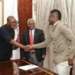 President John Mahama lauds Gyan's leadership qualities