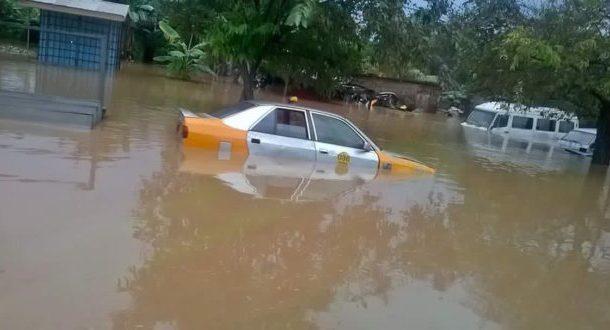 Floods submerge Koforidua
