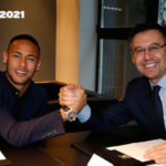 Finally! Neymar puts pen to paper on new Barca deal
