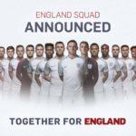 Gareth Southgate names his first England squad
