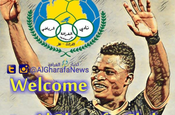 Rashid Sumaila announced by Qatar giants Al Gharafa as new signing even before medicals