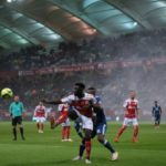 French-born Grejohn Kyei climbs off the bench to strike for Stade Reims in France