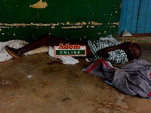 Man with rotten leg dumped in Nyohani, Tamale