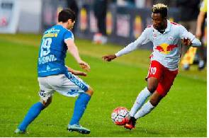 Samuel Tetteh double rescues point for FC Liefering