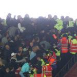 West Ham, Chelsea fans in violent clashes inside London Stadium